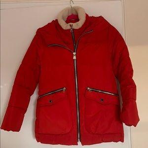 Zara hooded winter jacket